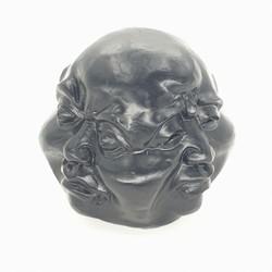 Vier gezichten boeddha groot