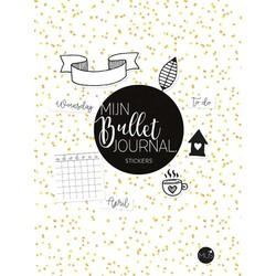 Mijn bullet journal -  stickers
