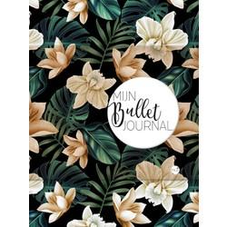Mijn bullet journal - black flower