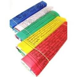 5 Tibetaanse gebedsvlaggen koord S