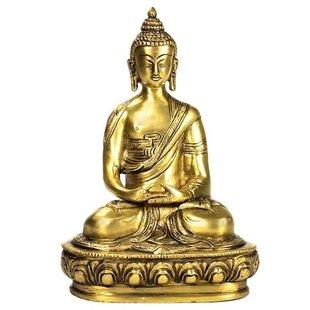 Boeddha Amithaba beeld enkelkleurig