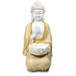 Boeddha van Vrede waxinelichthouder