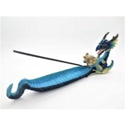 Blauw Draken Wierookhouder