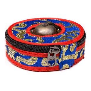 Hoesje voor Tingsha's blauw/rood/zwart Large
