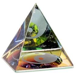 Kristal Piramide Yin Yang