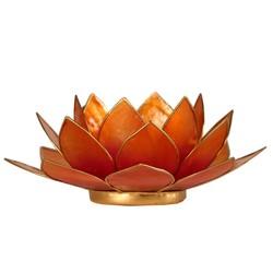 Lotus sfeerlicht 2-kleurig roze-oranje