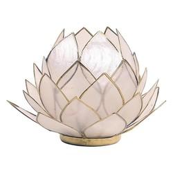 Lotus sfeerlicht naturel groot