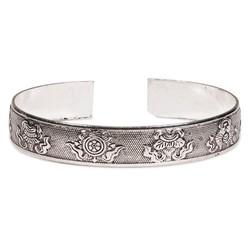 Tribal 8 Voorspoedsymbolen Miao armband