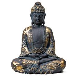 Meditatie Boeddha antieke finish Japan