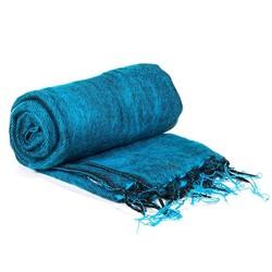 Meditatie omslagdoek Aqua Blauw