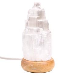 Mini Mood seleniet lampje wit USB + LED