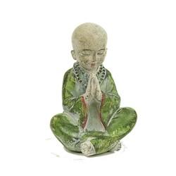 Monnikje biddend voor vrede
