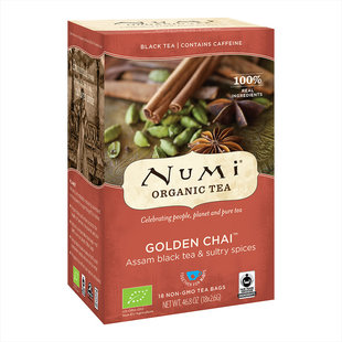 Numi Biologische Thee Golden Chai