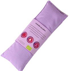 Oogkussen lavendel biologisch violet