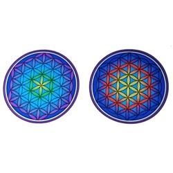 Raamsticker Bloem des Levens Mandala