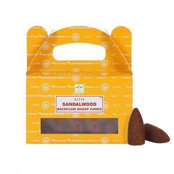 Sandelhout backflow wierookkegels