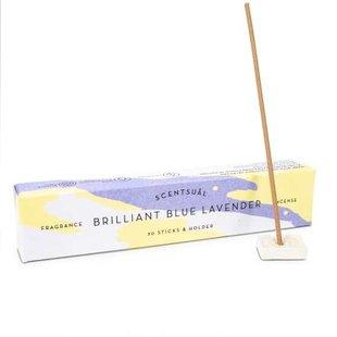 Scentsual Brilliant Blauw Lavendel wierook