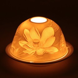 Sfeerlicht porselein Lotusbloem