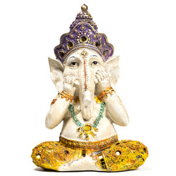 Yoga Ganesha beeldje
