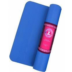 Yogi & Yogini PVC yogamat blauw