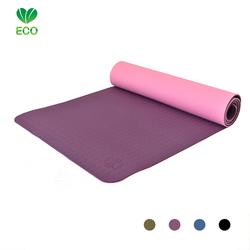Love Generation Eco Yogamat - aubergine paars