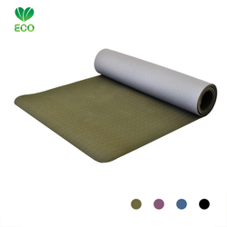 Love Generation Eco Yogamat - Donkergroen
