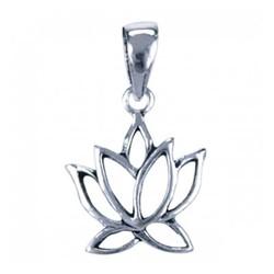 Symbool Hanger Lotus klein