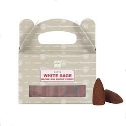 Satya White sage backflow wierookkegels