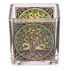 Theelichtglas levensboom