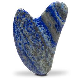Gua sha massagesteen Lapis Lazuli