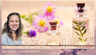 Etherische olie EHBO
