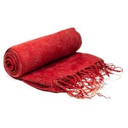 Meditatie omslagdoek rood