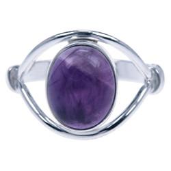 Zilveren ring Amethist 4888a