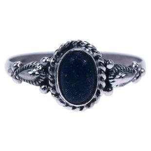 Zilveren ring Lapis Lazuli