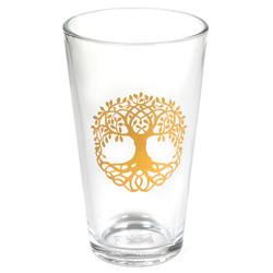 Drinkglas Levensboom effen