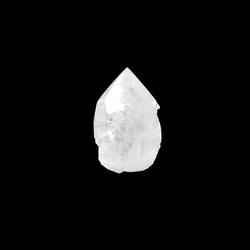 Bergkristal punt ruw/gepolijst