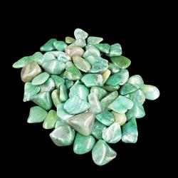 Smaragd Kwarts trommelsteen