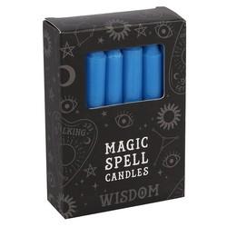Spell Kaarsen Blauw Wisdom