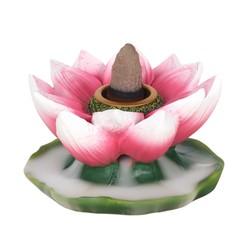 Kleurrijke Lotus Backflow wierookbrander