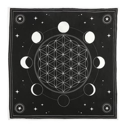 Moon Phase Crystal Grid Altaarkleed