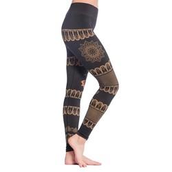 Yoga legging Bhakti zwart biologisch S-M