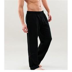 Yogabroek man zwart S-M