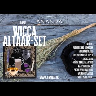 Ananda basis altaarset Wicca