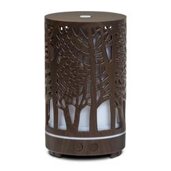 Ultrasone aroma diffuser Zen Forest bruin