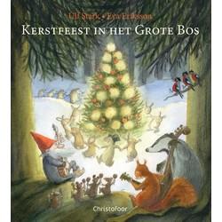 Kerstfeest in het grote bos