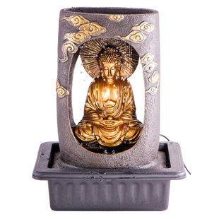 Binnen fontein Boeddha groot