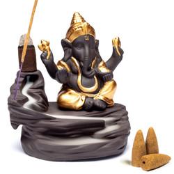 Backflow waterval wierookbrander Ganesha