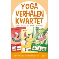 Yogaverhalen kwartet