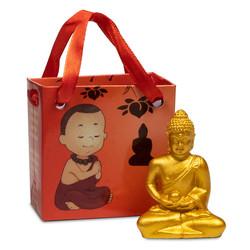 Meditatie Boeddha in geschenktasje