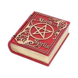 Opbergdoosje Book of Spells rood